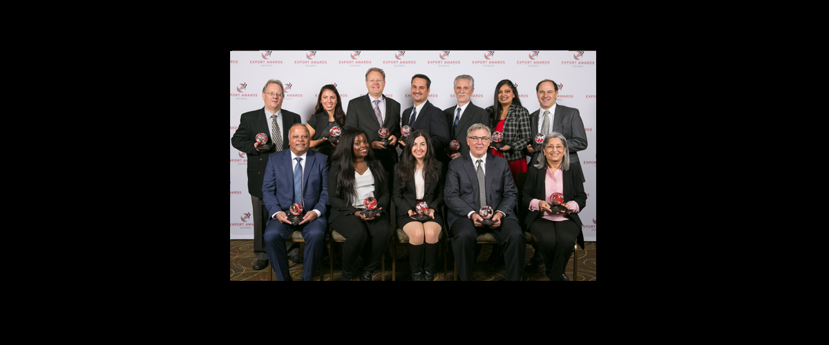 2015 Ontario Export Award Winners