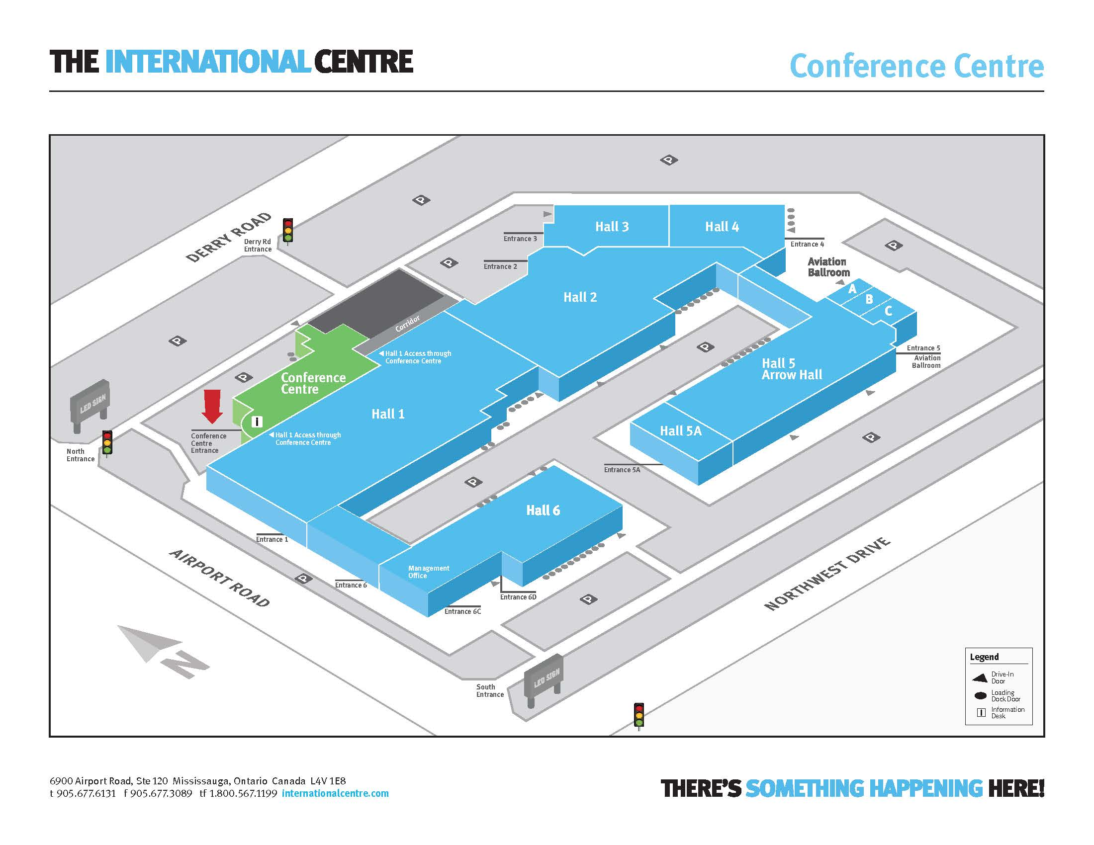 Facility Wayfinding Map - Conference Centre